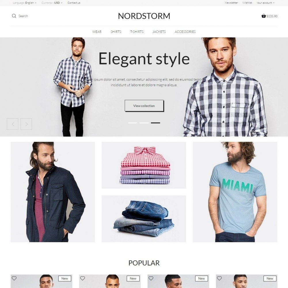 theme - Mode & Schoenen - NordStorm Men's Wear - 3
