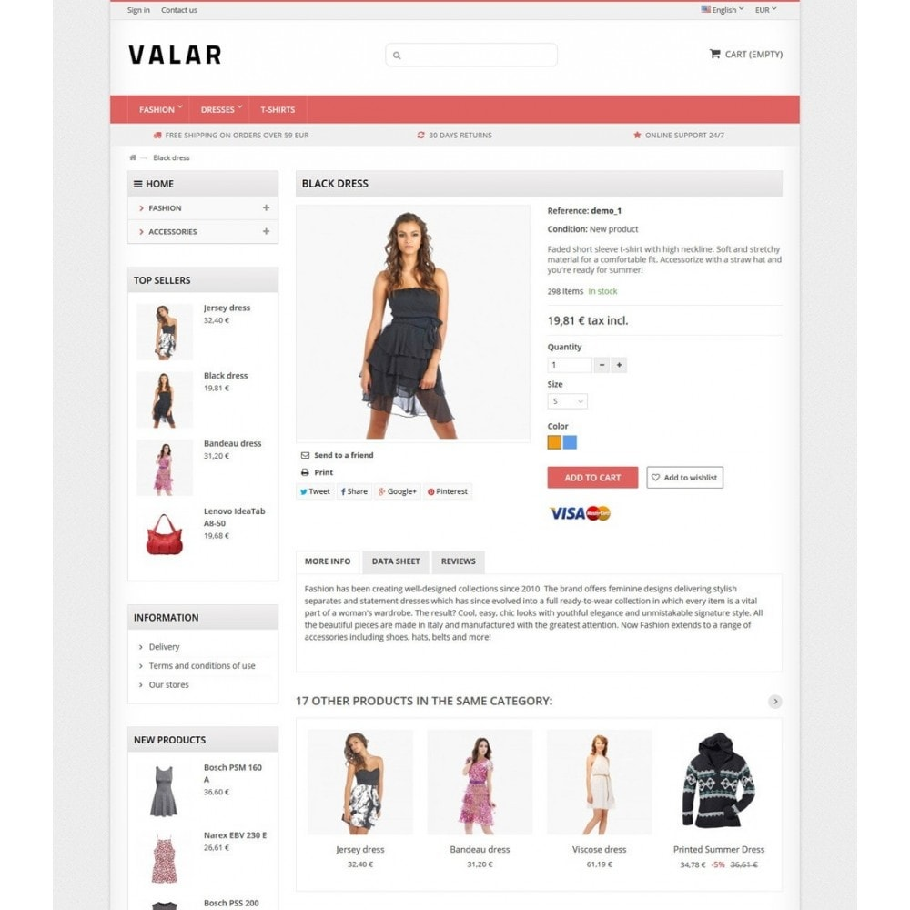 theme - Fashion & Shoes - Valar - 7