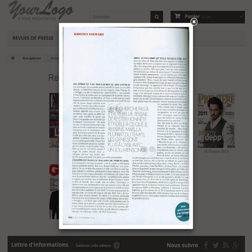 module - Avis clients - Revues de Presse   Parution - 3