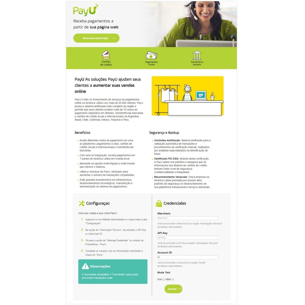 module - Payment by Card or Wallet - PayU Latam - 3
