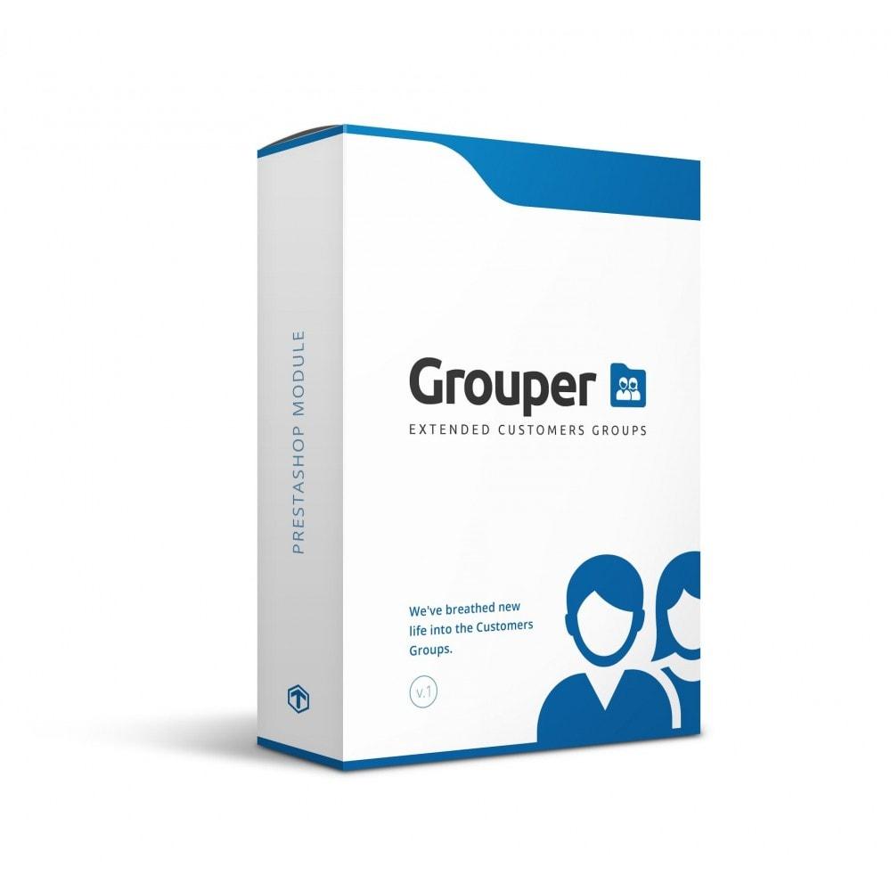 module - Zarządzanie klientami - Grouper - Extended Customers Groups - 1
