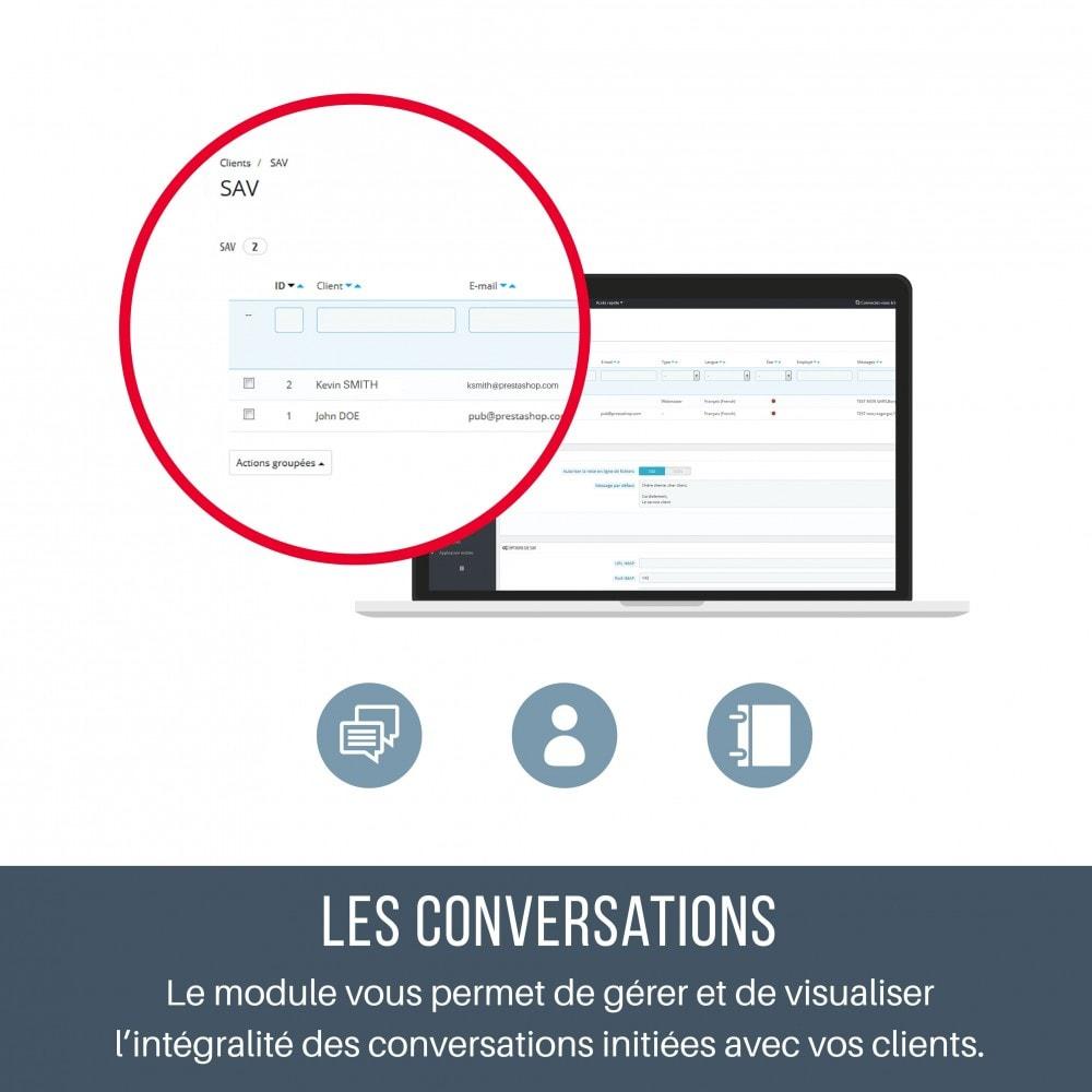 module - Service Client - SAV - Contacter vos clients depuis leur fiche - 4