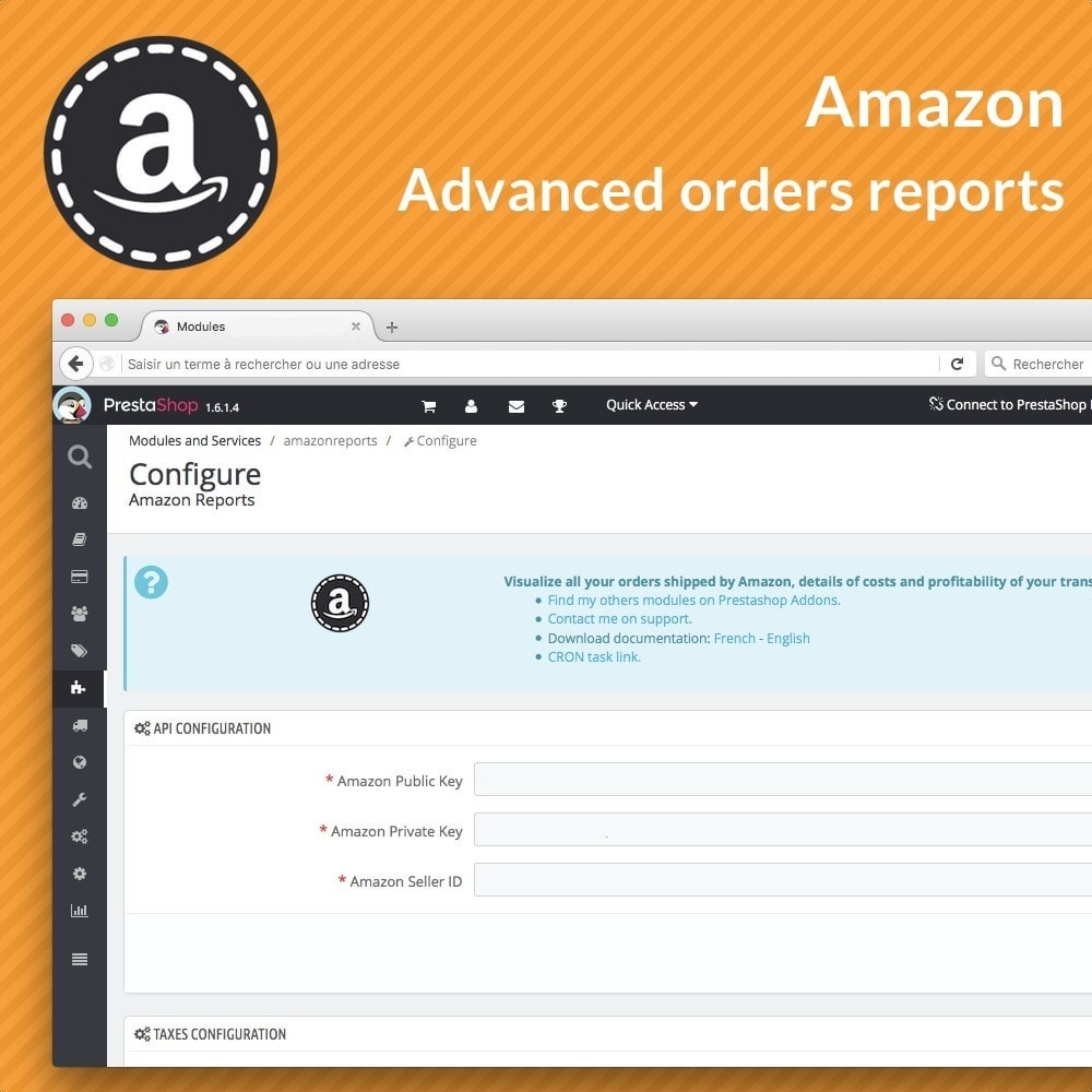 module - Gerenciamento de pedidos - Amazon Reports - 2