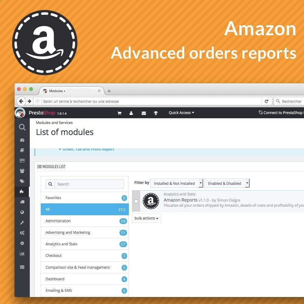 module - Order Management - Amazon Reports - 3