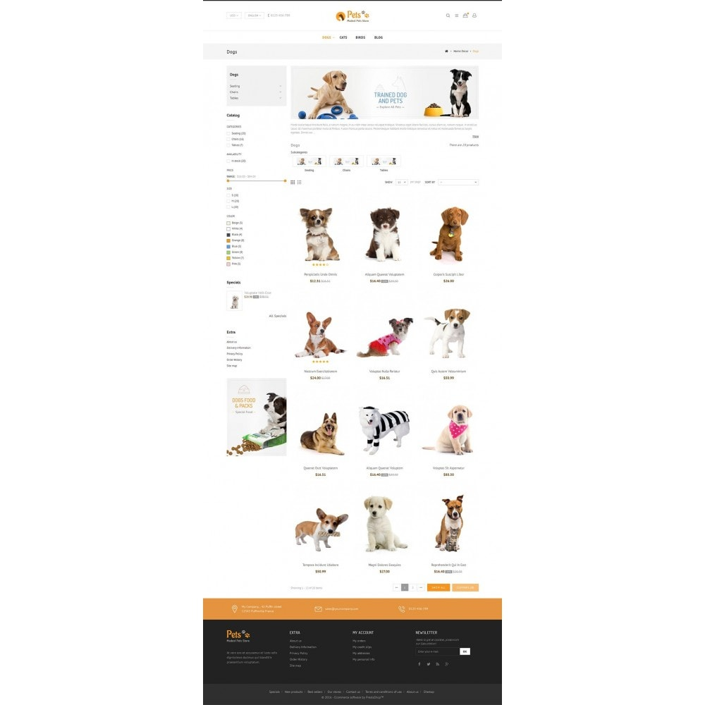 theme - Animaux - Animal Pets Store - 3