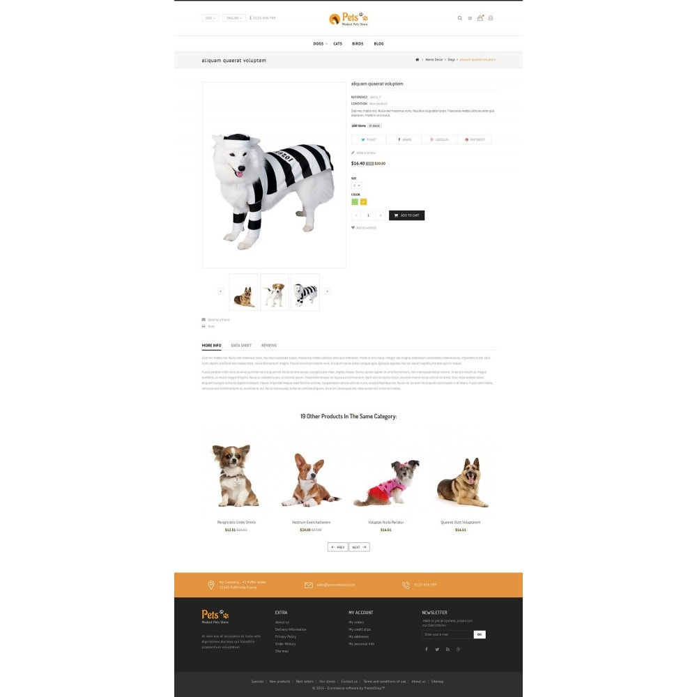 theme - Animaux - Animal Pets Store - 4