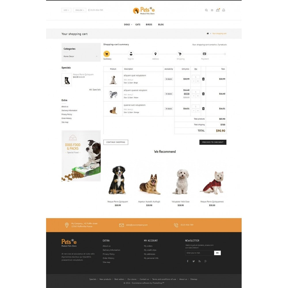 theme - Animaux - Animal Pets Store - 5