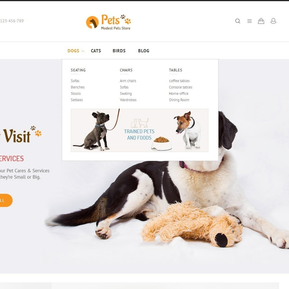 theme - Animaux - Animal Pets Store - 6