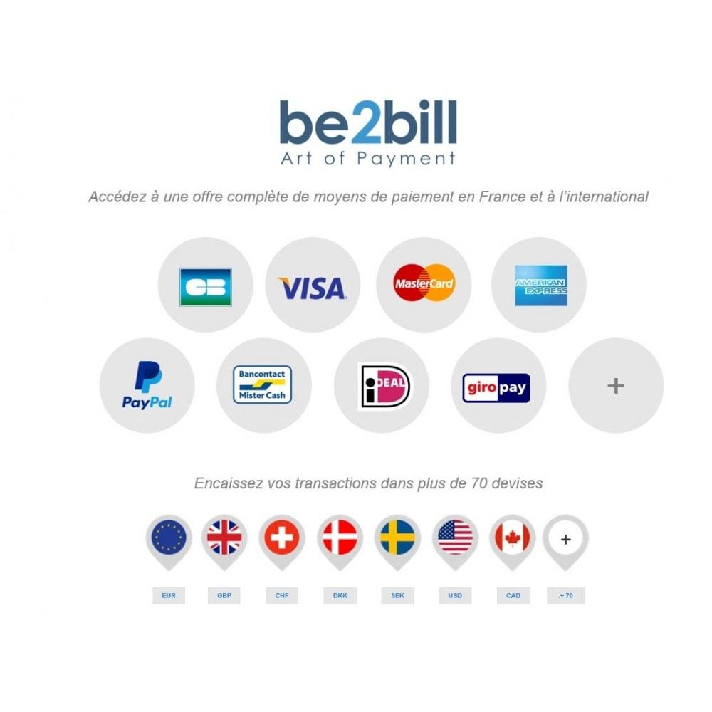 module - Paiement par Carte ou Wallet - Be2bill - Le service de paiement orienté CONVERSION - 2