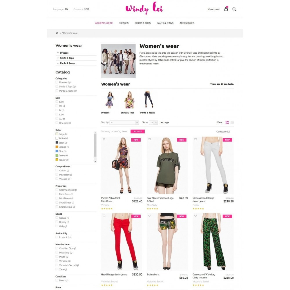 theme - Moda & Calzature - Windy lei Women's Clothing - 5