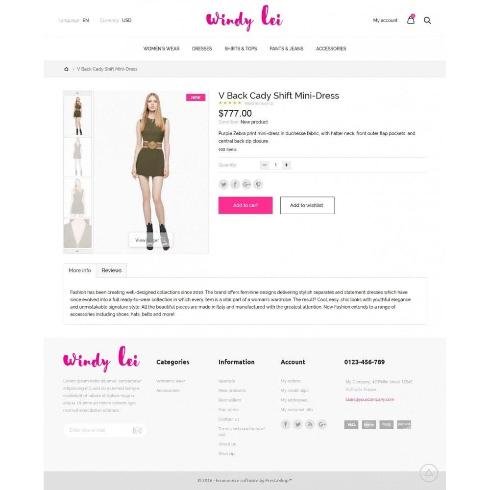 theme - Moda & Calzature - Windy lei Women's Clothing - 7
