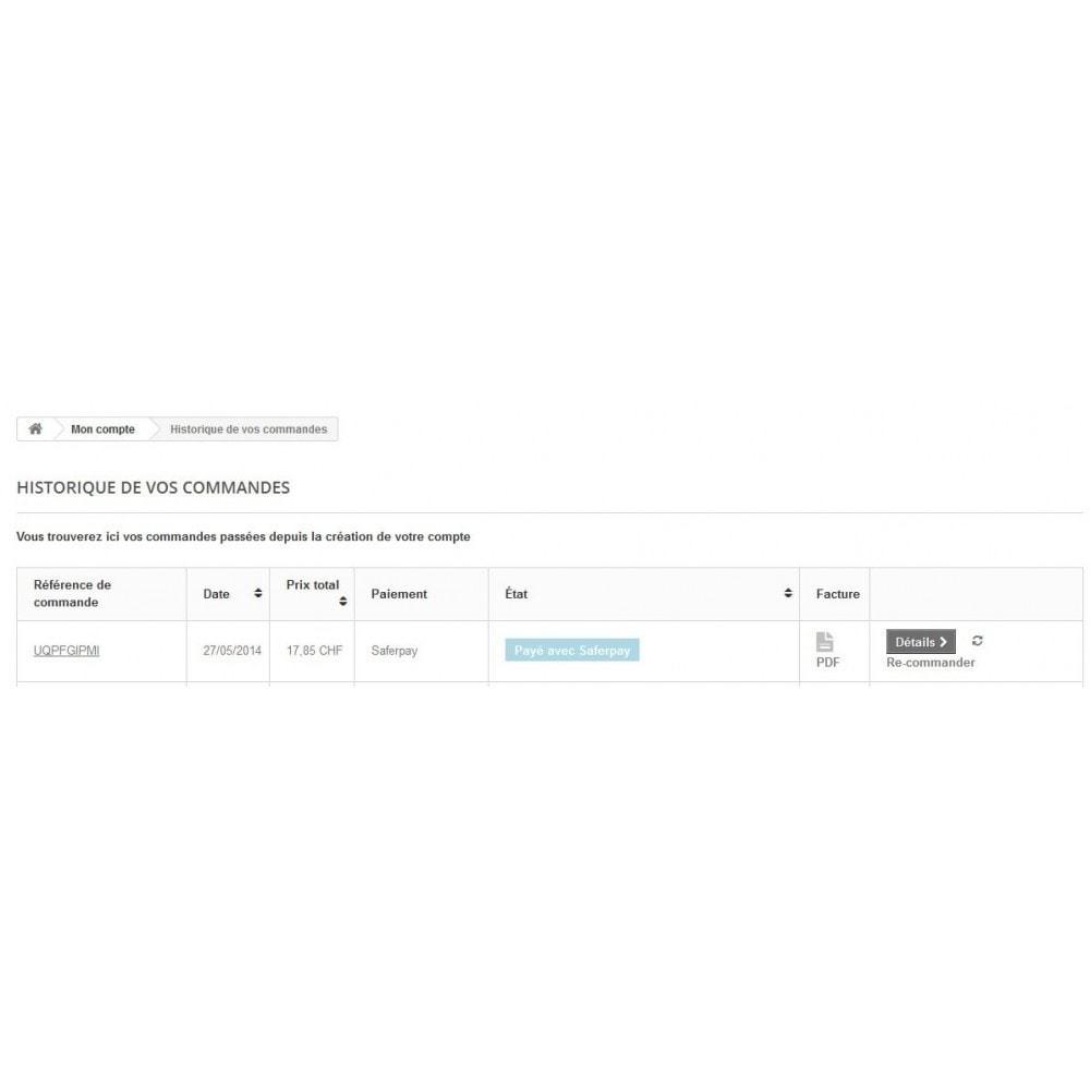 module - Paiement par Carte ou Wallet - Saferpay / Six Payment Services - 8