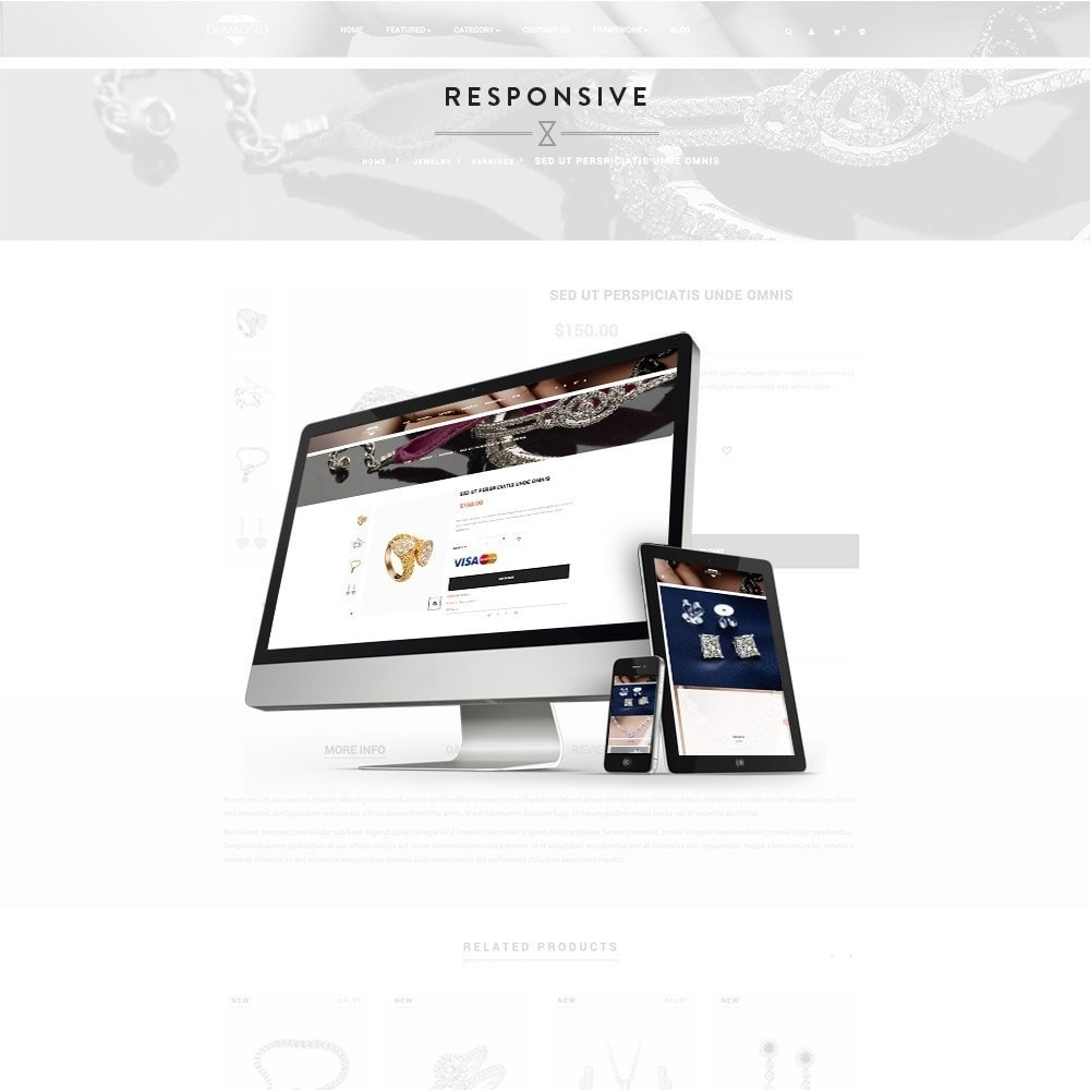 theme - Jewelry & Accessories - Ap Diamond Prox - 1
