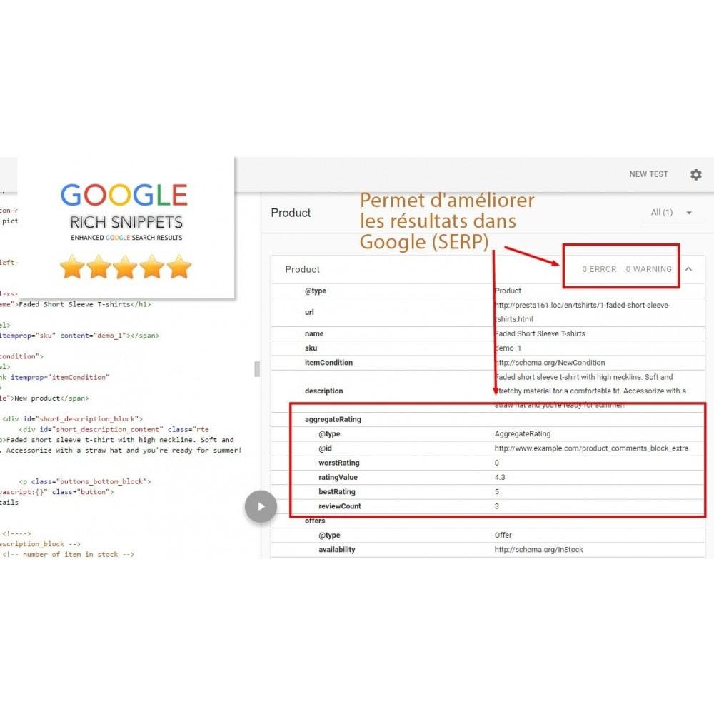 module - Avis clients - Commentaires avancés avec photos + Google rich snippets - 8