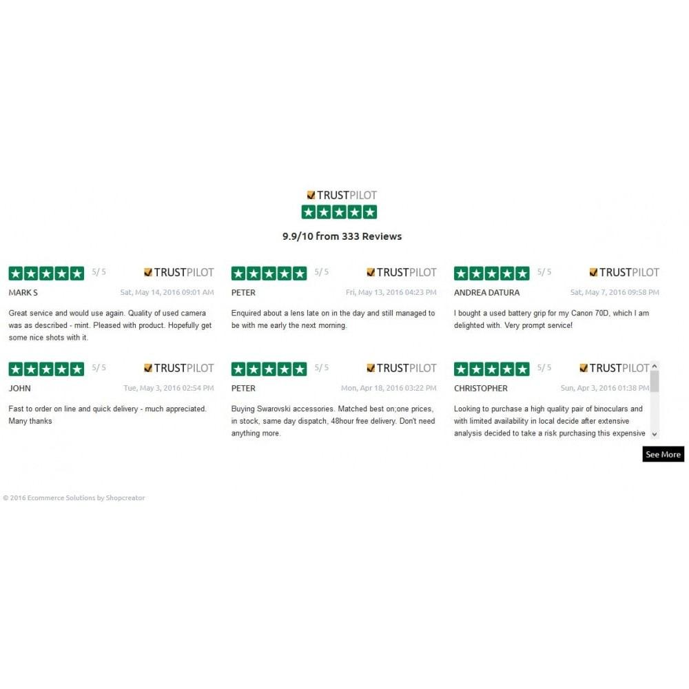 module - Kundenbewertungen - Trustpilot Reviews - 4