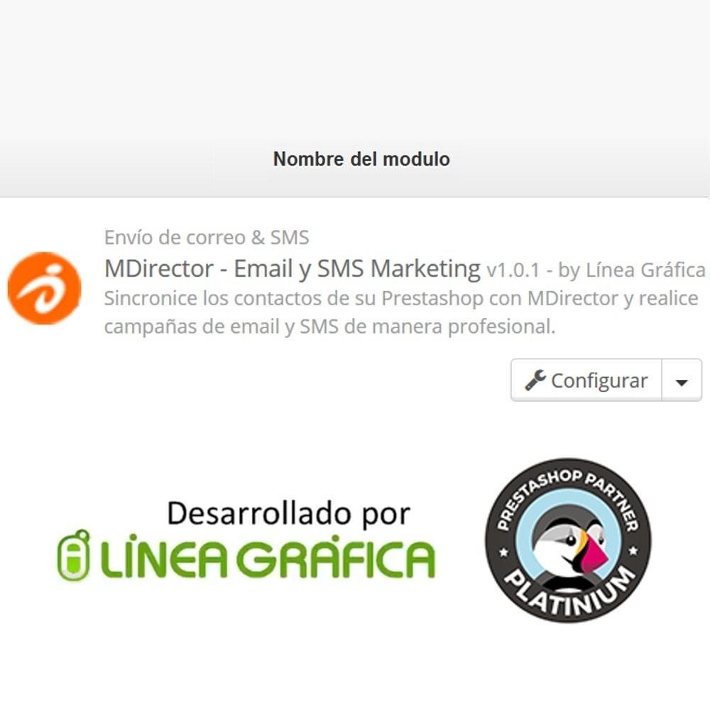 module - Newsletter y SMS - MDirector - Envío de Campañas de Email y SMS Marketing - 8