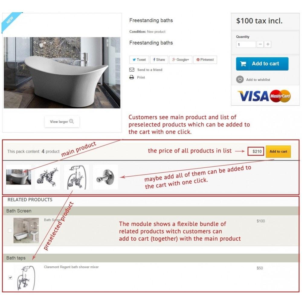 module - Ventes croisées & Packs de produits - Bundles et ensembles flexibles de produits - 1