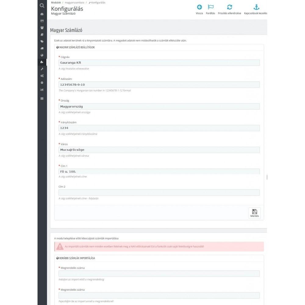 module - Księgowość & Fakturowania - Hungarian Invoicing - 3
