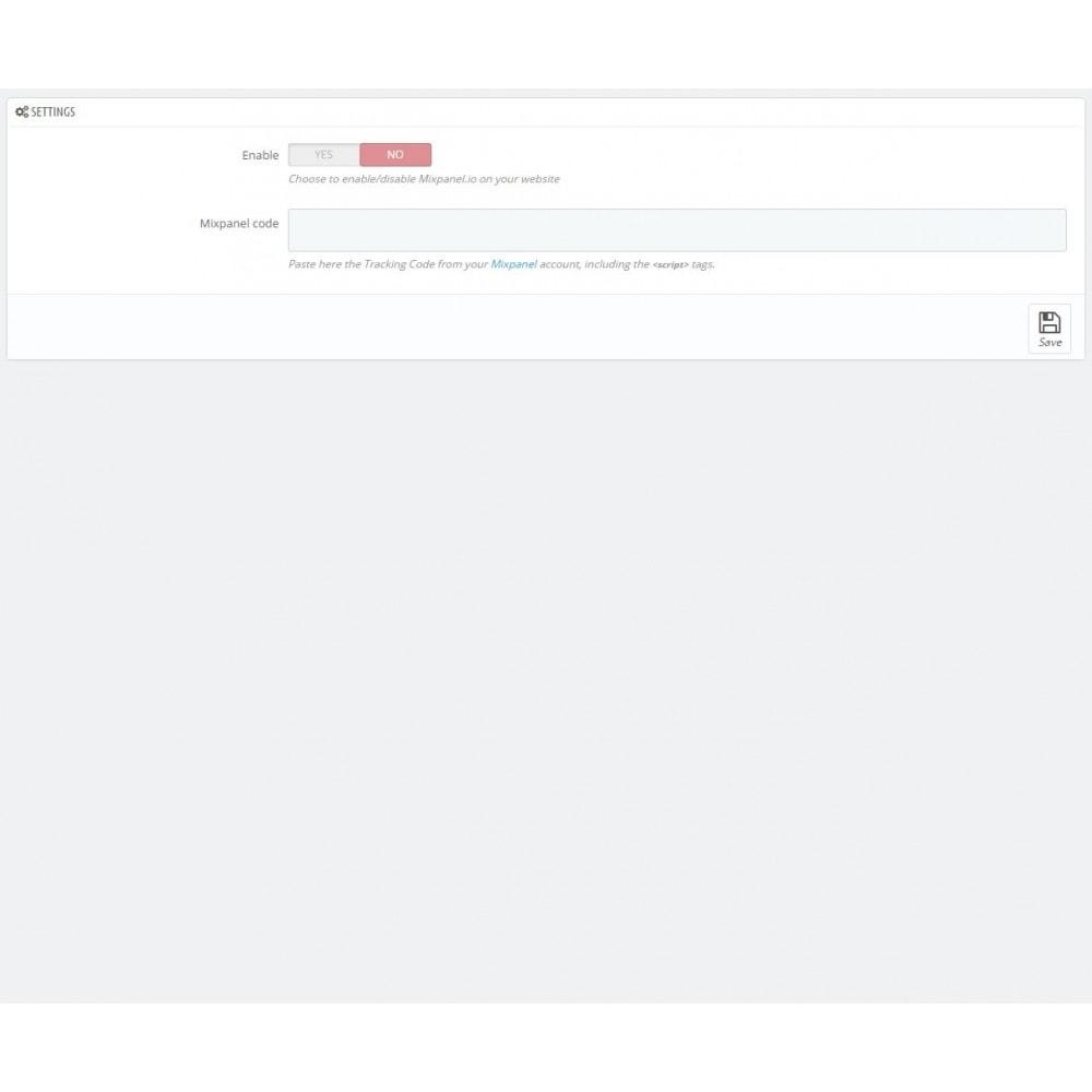 module - Analyses & Statistieken - Mixpanel - Web Analytics - 5