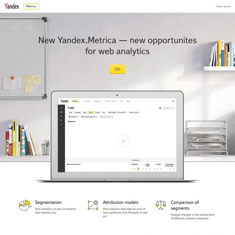 module - Analytics & Statistics - Metrica - Yandex Analytics - 3