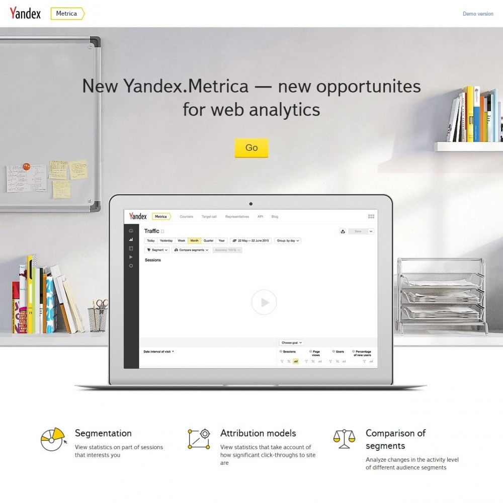 module - Analizy & Statystyki - Metrica - Yandex Analytics - 3