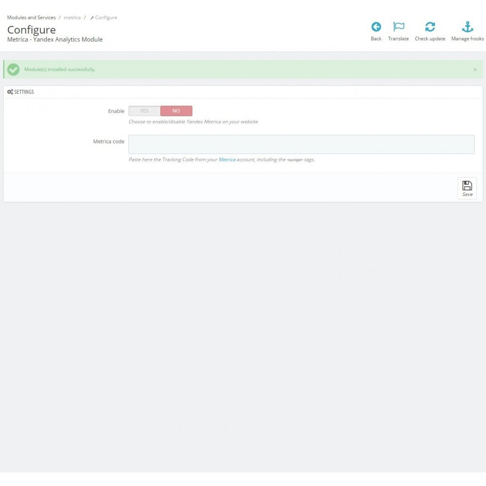 module - Analizy & Statystyki - Metrica - Yandex Analytics - 4