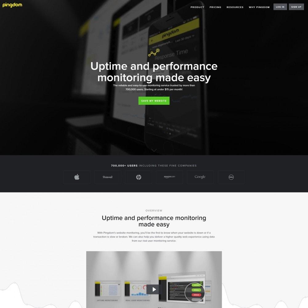 module - Analytics & Statistics - Pingdom - Website Monitoring - 2