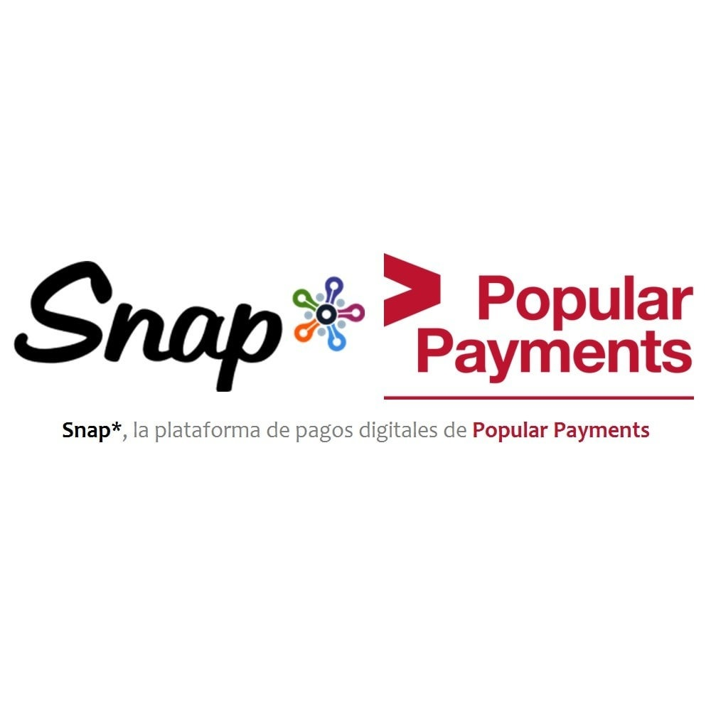 module - Payment by Card or Wallet - Snap* - Virtual Payment Gateway by Popular Payments - 1