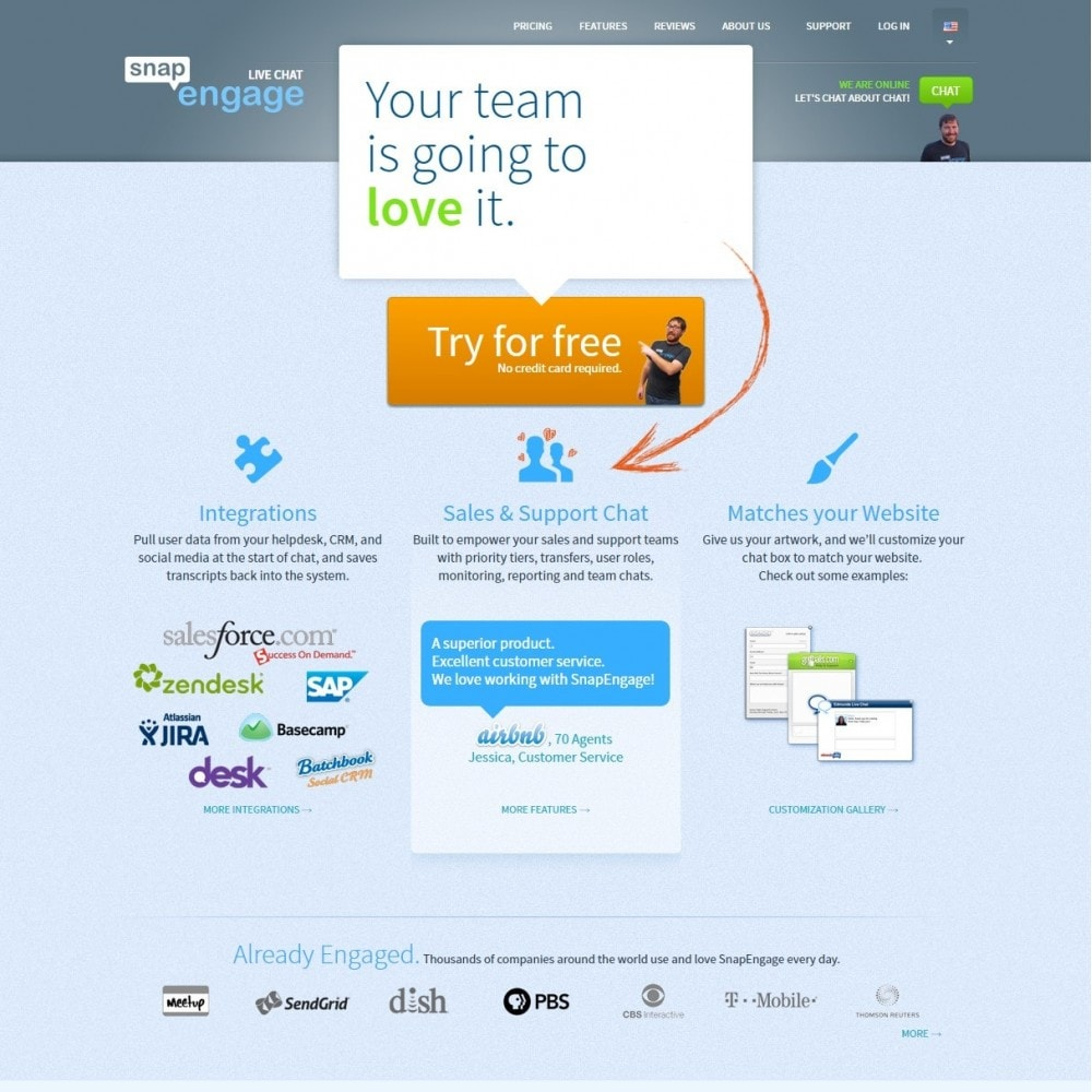 module - Wsparcie & Czat online - Snapengage Chat - Live Customer Service Integration - 2