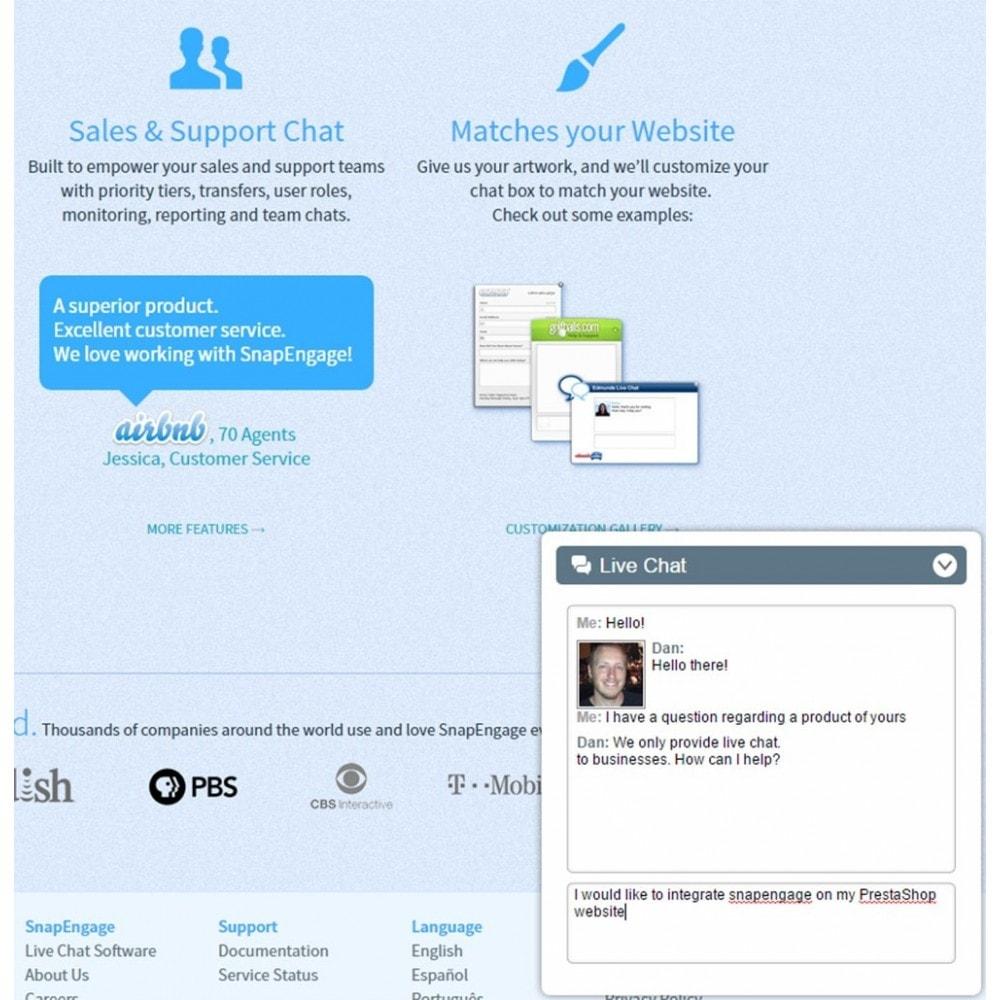 module - Wsparcie & Czat online - Snapengage Chat - Live Customer Service Integration - 3
