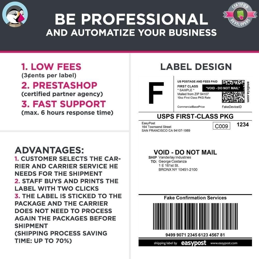 module - Preparação & Remessa - Easy Post Pro (DHL, GLS, DPD, Colissimo, RoyalMail etc) - 8