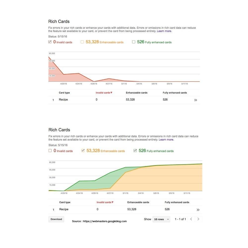 module - SEO (référencement naturel) - Google Rich Cards pour produits - 3