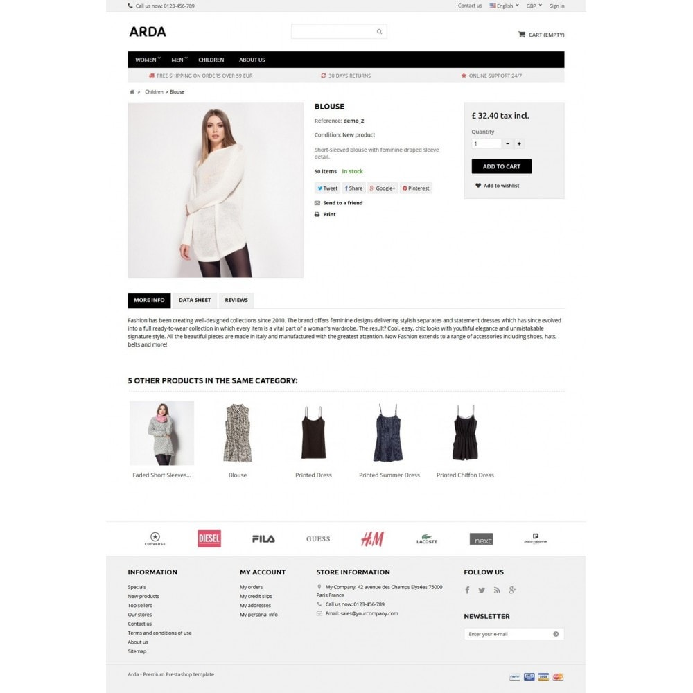 theme - Mode & Chaussures - Arda - 5
