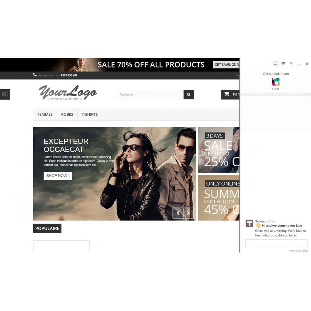 module - Support & Chat Online - Studio Vitamine : Talkus - 2