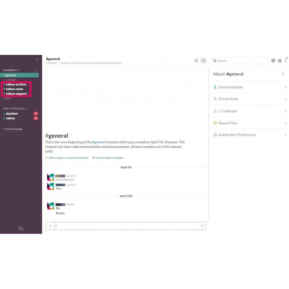 module - Support & Chat Online - Studio Vitamine : Talkus - 4