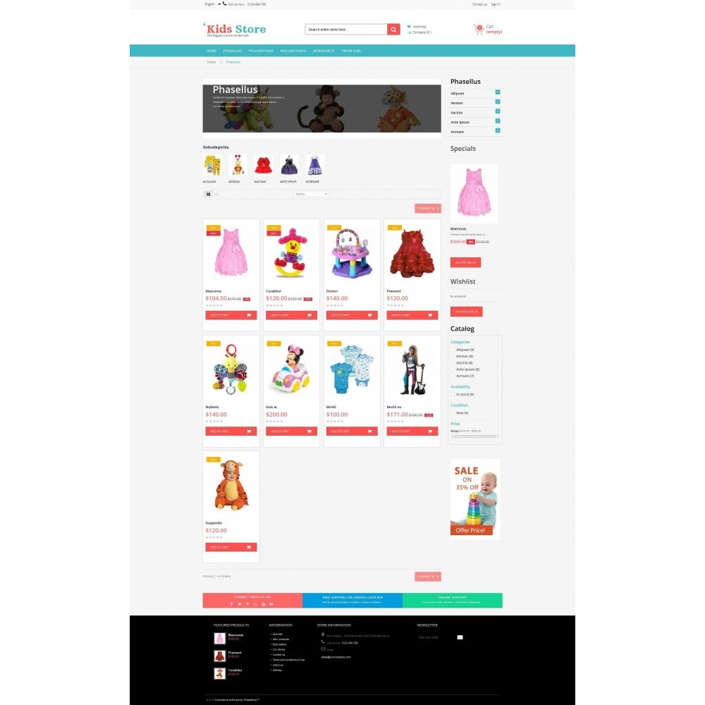 theme - Bambini & Giocattoli - Kids Store Multipurpose RFX0012 - 3