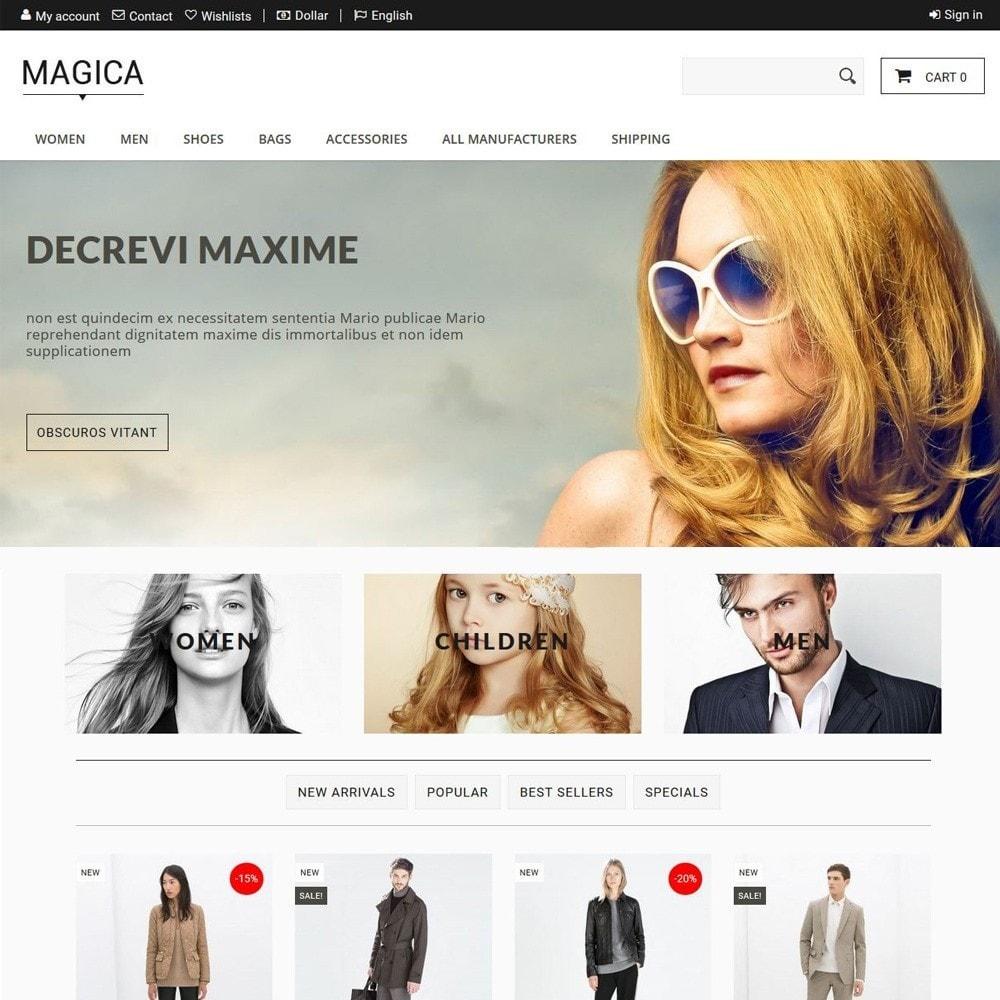 theme - Moda & Calçados - Magica - 1