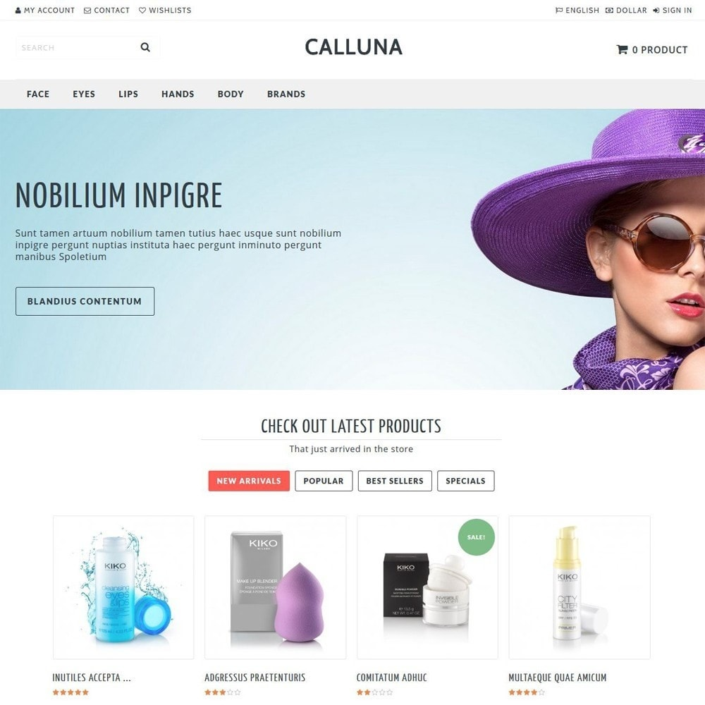 theme - Health & Beauty - Calluna - 1