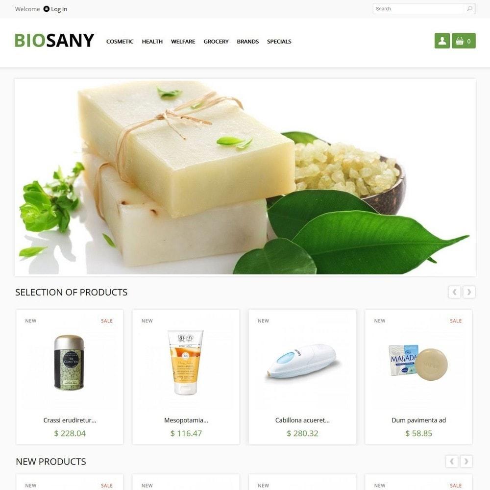 theme - Zdrowie & Uroda - Biosany - 1