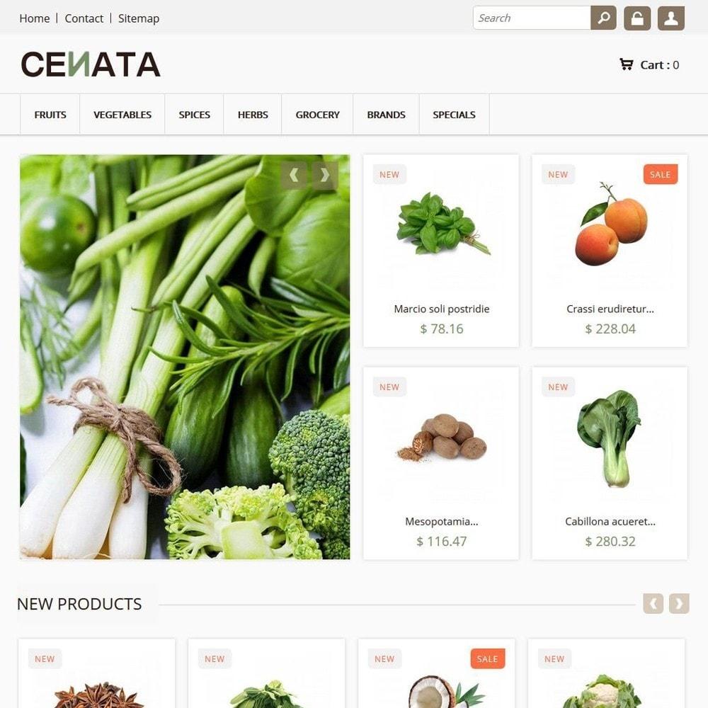theme - Żywność & Restauracje - Cenata - 1