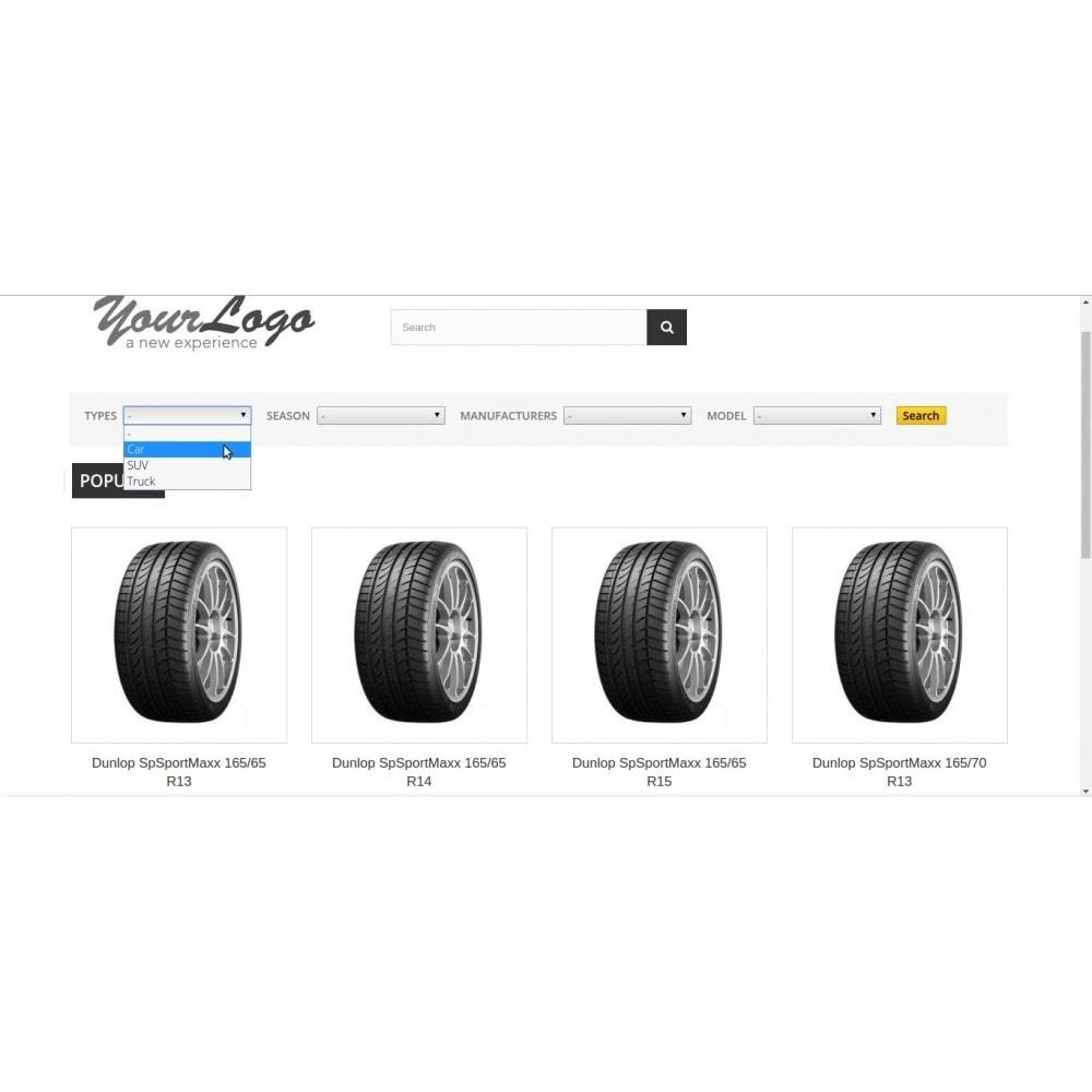 module - Suche & Filter - FlexSearch - CascadeMIX - 1