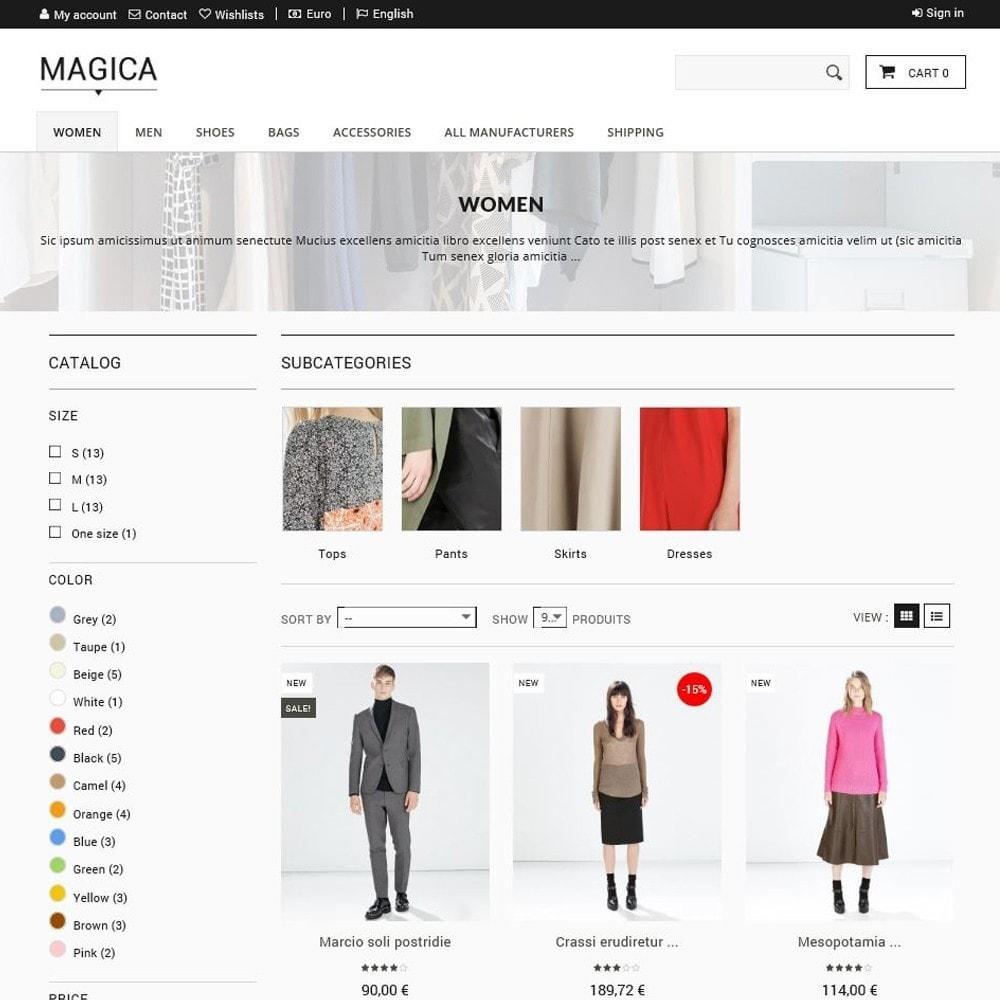 theme - Moda & Calçados - Magica - 2