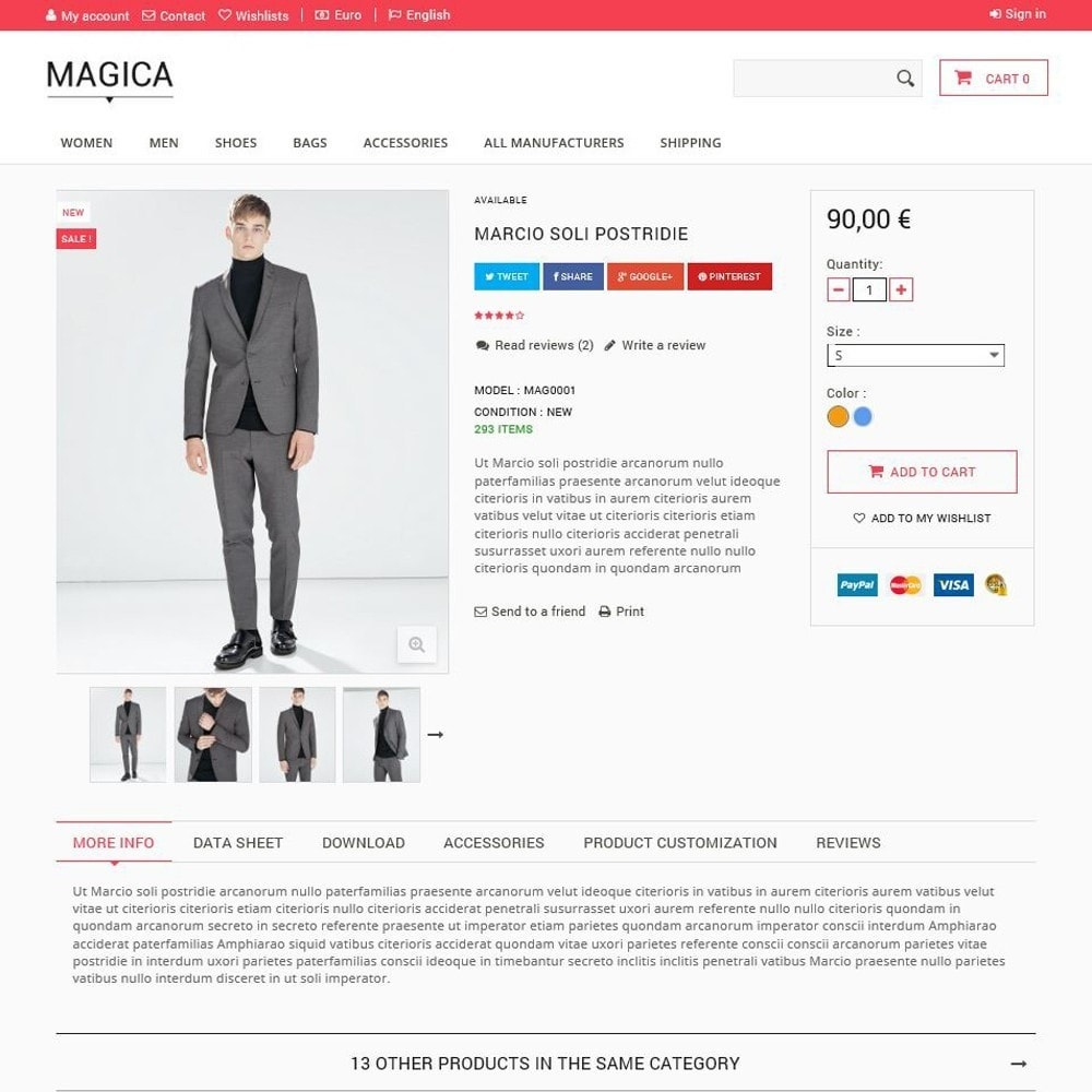 theme - Mode & Chaussures - Magica - 3