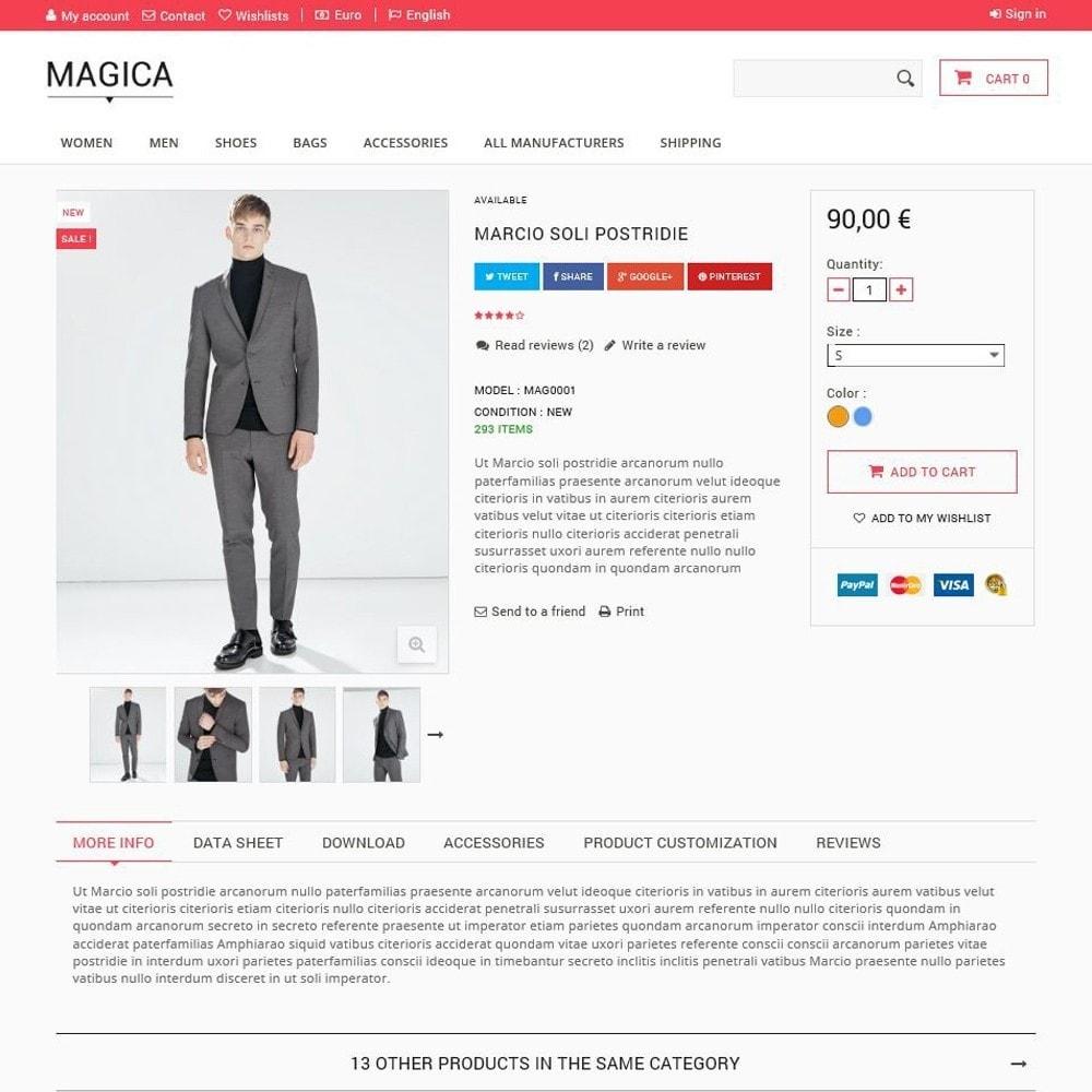 theme - Moda & Calçados - Magica - 3
