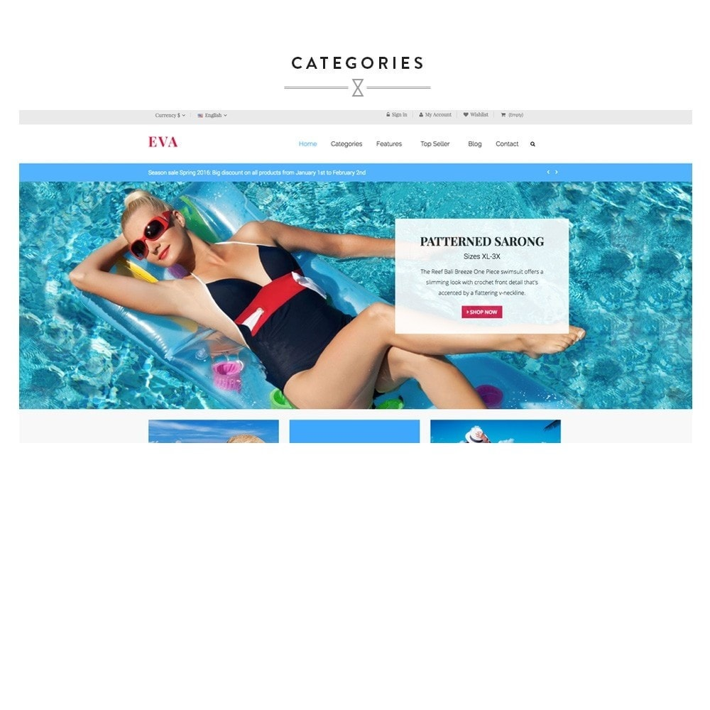 theme - Sport, Activiteiten & Reizen - Ap Eva Swimming - 2