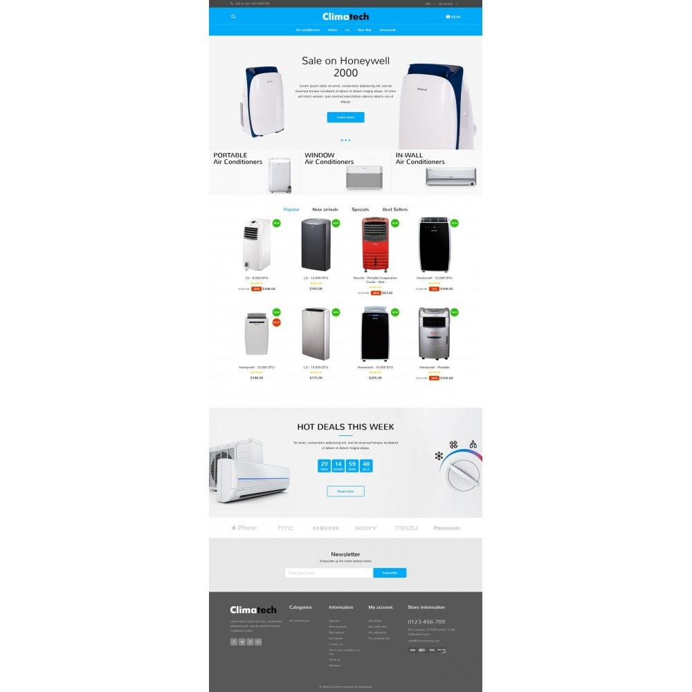 theme - Elektronika & High Tech - Climatech Store - 6
