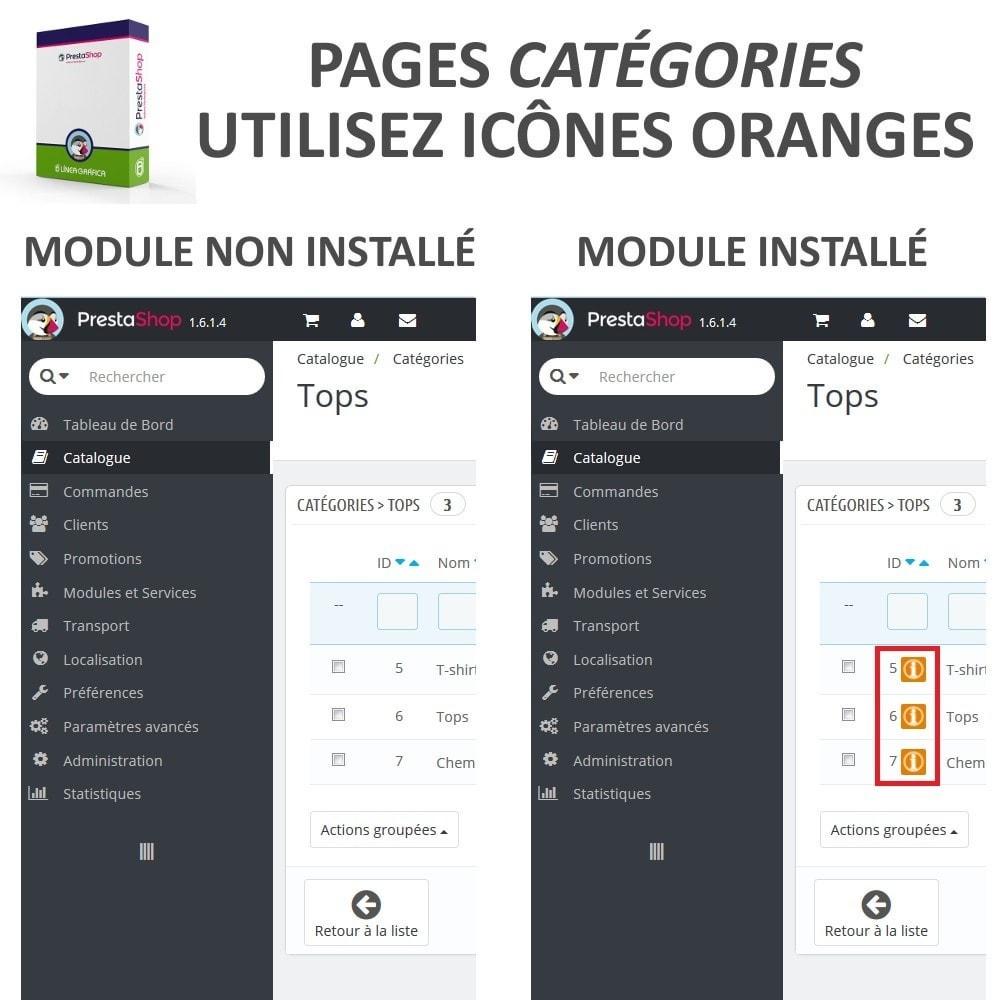 module - Edition rapide & Edition de masse - Aperçu / Accès Rapide aux Détails des Catégories - 2