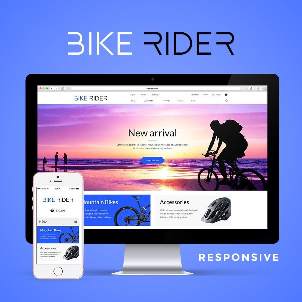 theme - Sport, Loisirs & Voyage - Bike Rider Shop - 1