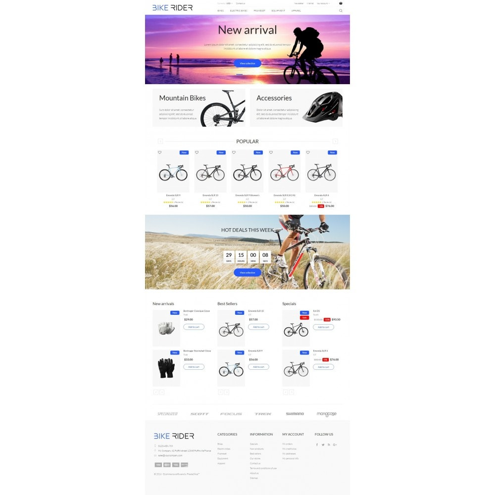 theme - Sport, Loisirs & Voyage - Bike Rider Shop - 5