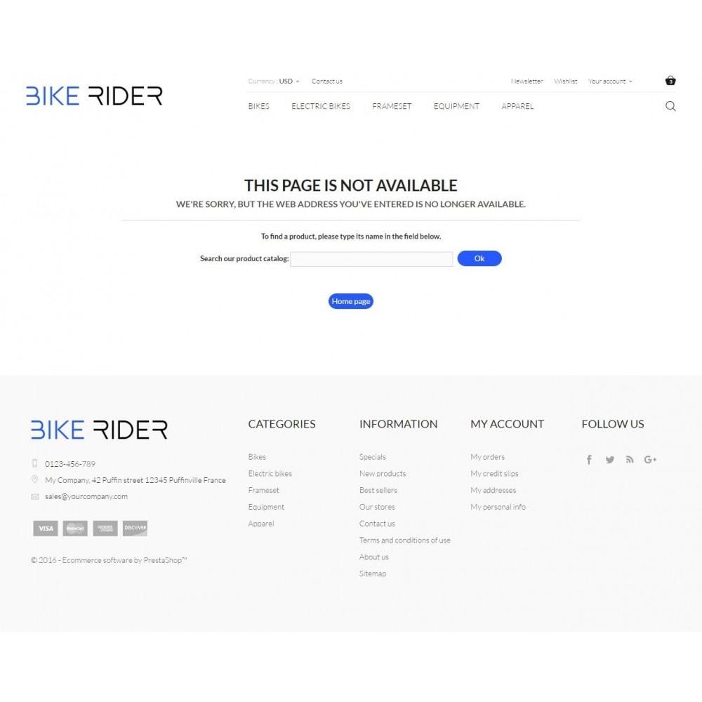 theme - Sport, Rozrywka & Podróże - Bike Rider Shop - 9